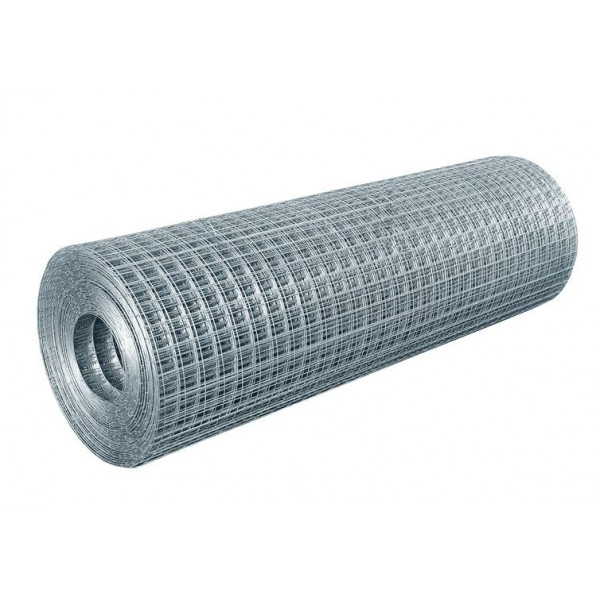 Welded mesh in rolls