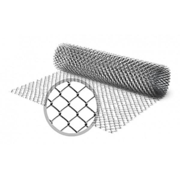 Grid chain-link, non-galvanized